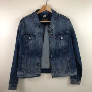 LEVI'S denim jacket women's size xl